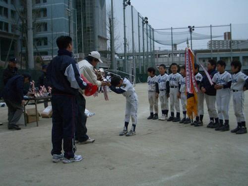 2009 ティーボール大会2連覇-表彰