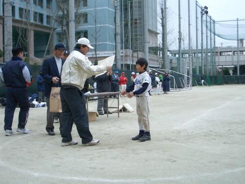 2009 ティーボール大会2連覇-MVP