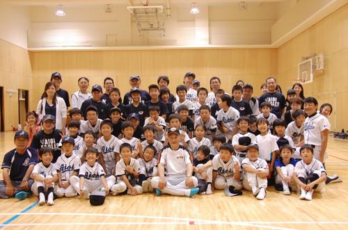 2012 近藤昭仁氏 野球教室3