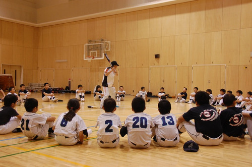 2012 近藤昭仁氏 野球教室2