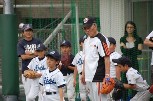 2012 近藤昭仁氏 野球教室1