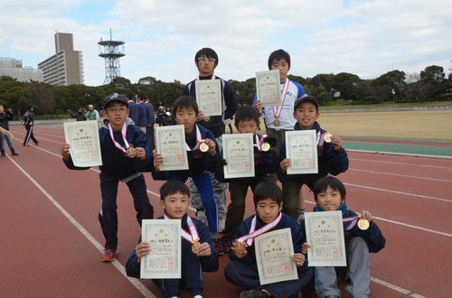 2013 マラソン大会入賞者!