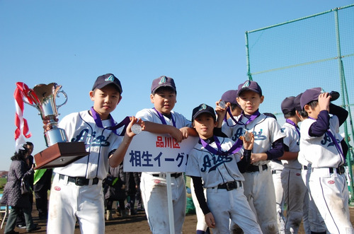 2011 新Bクラス第1回城南カップ準優勝2