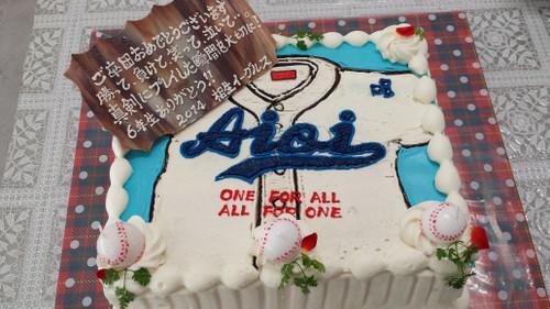 2013年度 6年生を送る会 ケーキ☆