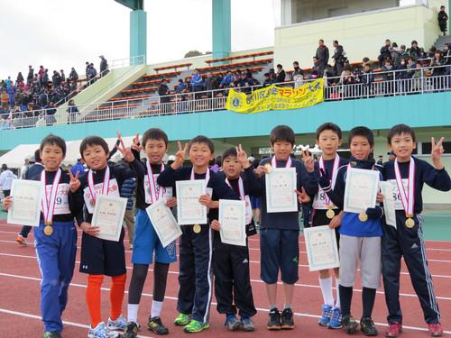2014 マラソン大会入賞者!