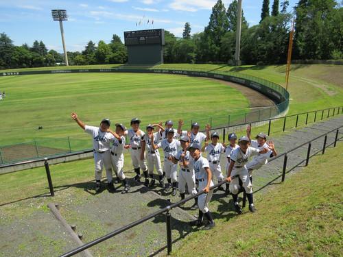 2015 東京都学童大会 八王子市民球場