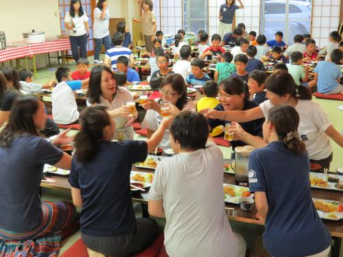 2015 河口湖合宿の夕食