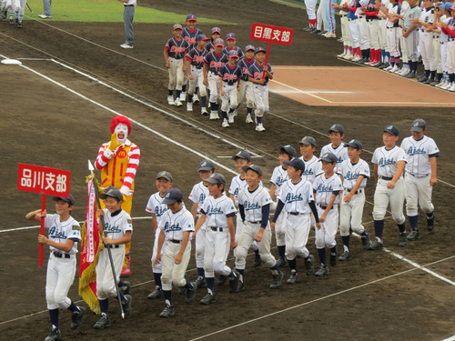 2016 全日本学童 東京都大会 開会式