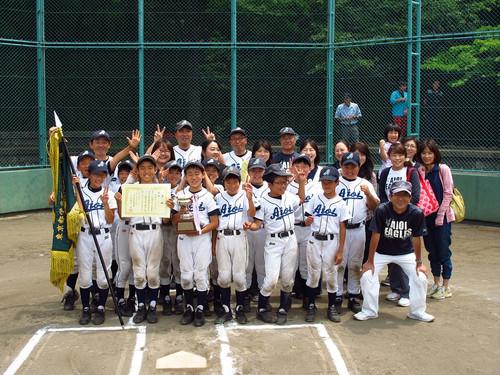 2015 東京都学童大会 進出決定! その2