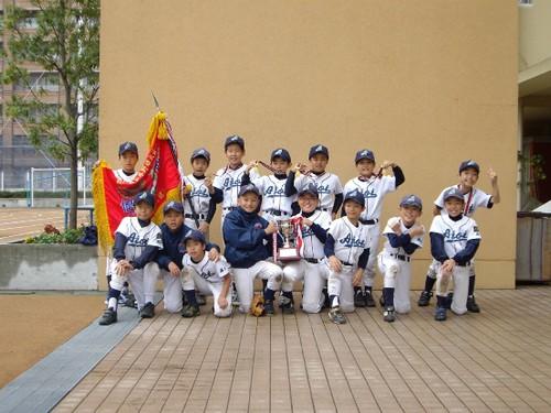 2009 区長杯優勝! CAチーム集合